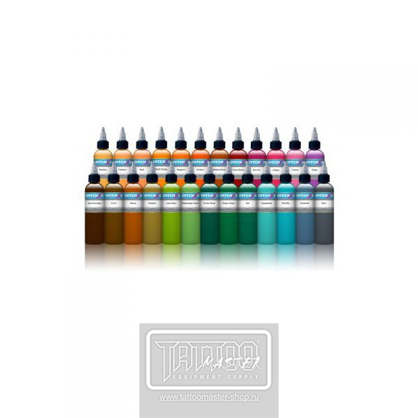 Intenze Set 25 Colors Ink
